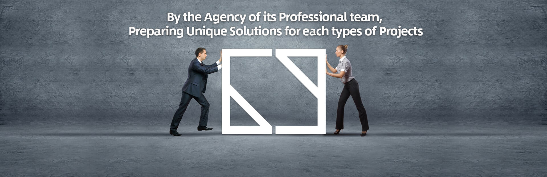 By the Agency of its Professional team, Preparing Unique Solutions for each types of Projects