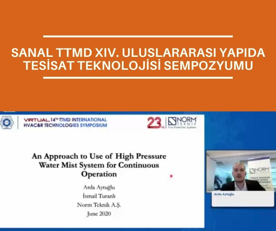 VIRTUAL TTMD XIV INTERNATIONAL HVAC & R TECHNOLOGIES SYMPOSIUM