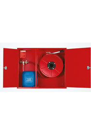 model-kyd-b1-recessed-fire-hose-cabinet-with-foam-mixer
