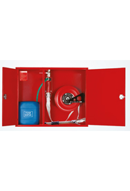 model-kyd-b2-recessed-fire-hose-cabinet-with-foam-mixer