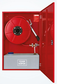 model-kyd-t1-recessed-fire-hose-cabinet-with-foam-mixer-